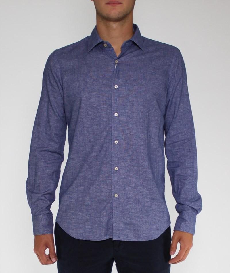 Camisa sport franela geométrico Xacus