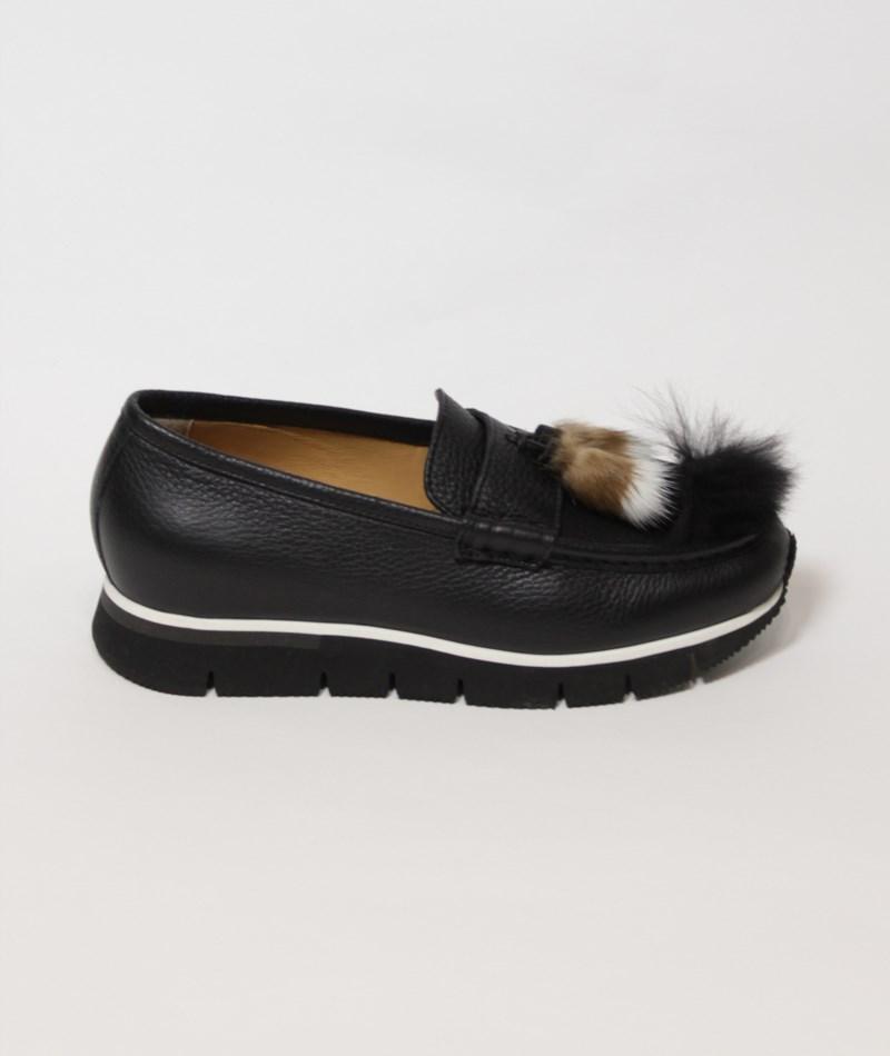 Sneaker terciopelo Santoni