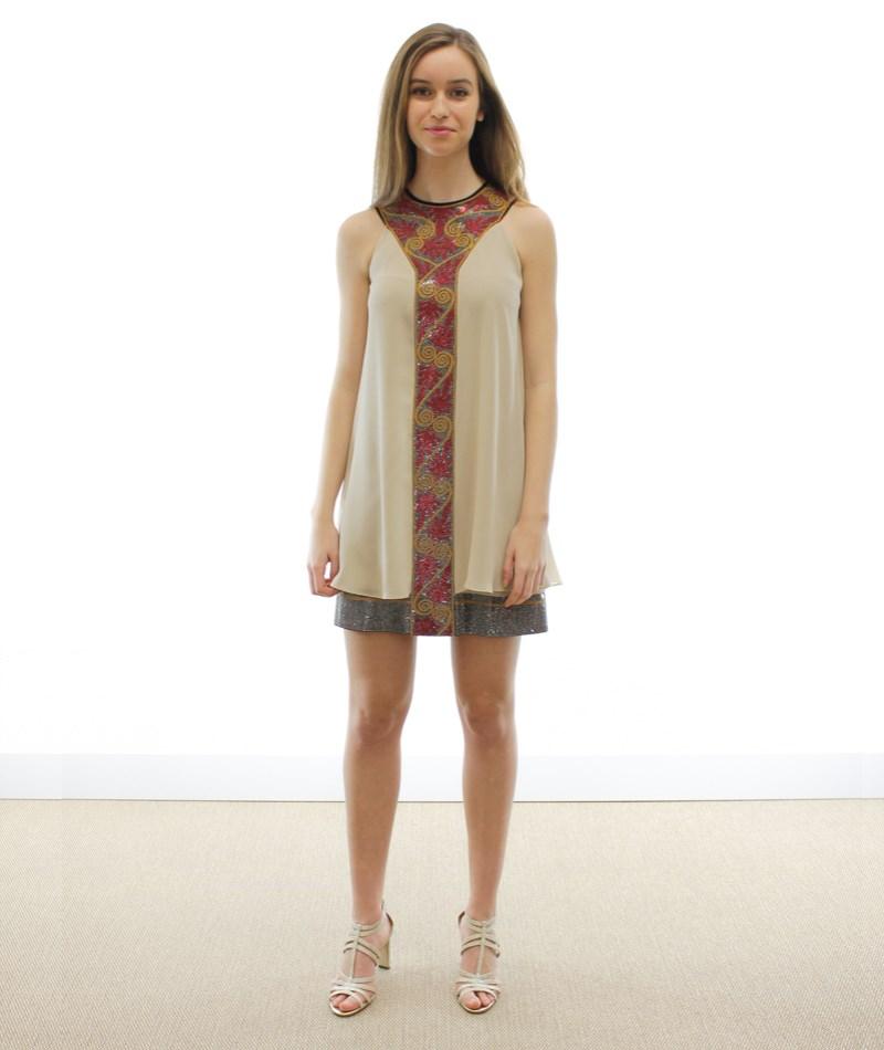 Vestido punto Versace