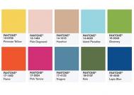 Los colores que se llevarán en 2017: una mezcla de vitalidad, relajación y aire libre